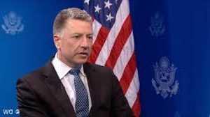Президент Украины встретился со Специальным представителем США и Постоянным представителем США при ЕС