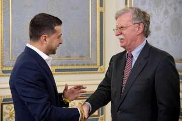Володимир Зеленський на зустрічі з радником Президента США: Україна вітала б приєднання Сполучених Штатів до Нормандського формату