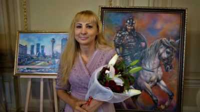 Виставка художниці Наталії Мкртчян в Українському Фонді Культури
