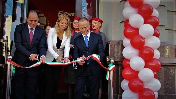 Ernest Airlines открыли офис на киевском Подоле