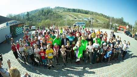 Перший в Україні Гірський Кубок Карпат зі скандинавської ходьби відбувся!