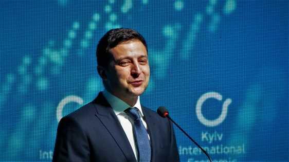 Виступ Володимира Зеленського на шостому Міжнародному економічному форумі