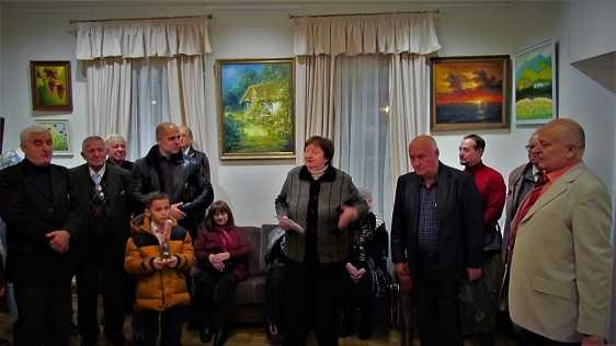 Виставка Івана Черниша і Наталії Дмитренко у Музеї Гетьманства