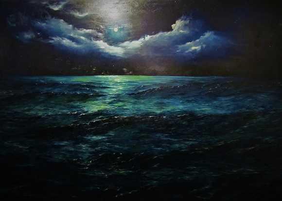 Виставка живопису  «ТВОЯ МЕЖА» Аліни Гамалі