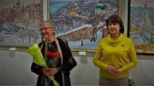 Ювілейна виставка Галини Кириленко-Бараннікової у київській галереї «Митець»