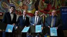 Україна, Словаччина, Чехія : реалізуємо новий міжнародний проект у сфері енергетики
