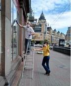 """Плакатний проект """"Stop Covid - 19"""" у київській галереї «МИТЕЦЬ»"""