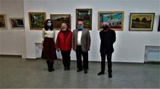 Персональна виставка живопису «ПОРИ РОКУ» Юрія Базавлука