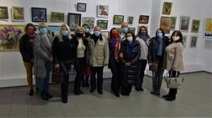 Відкрито колективну виставку «Олійний живопис» у Центральному будинку художника
