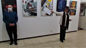 Творчий доробок Володимира Зирянова на колективній виставці «РОЗФАРБУЄМО ЖИТТЯ»