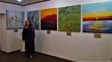 Персональная выставка Ольги Кизуб «Наслаждение цветом»/ «Насолода кольором»