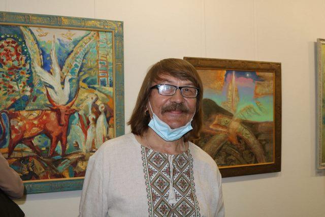 Багато бачить і багато втілює, 40-річчя творчої діяльності майстра живопису А.Буртового