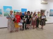 Виставку «Сонячні мандри» відкрито у галереї «Митець»!