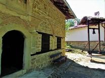 Фреска «Колесо жизни»: посещение церкви Рождества Христова в болгарском селе Арбанаси