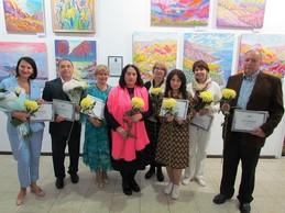 Відкриття виставки «Золота палітра» у галереї «Митець»